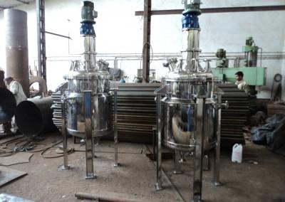 450 Liter Reactor